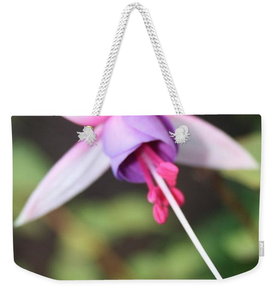 Fuchsia Showing Off In All Its Glory Weekender Tote Bag
