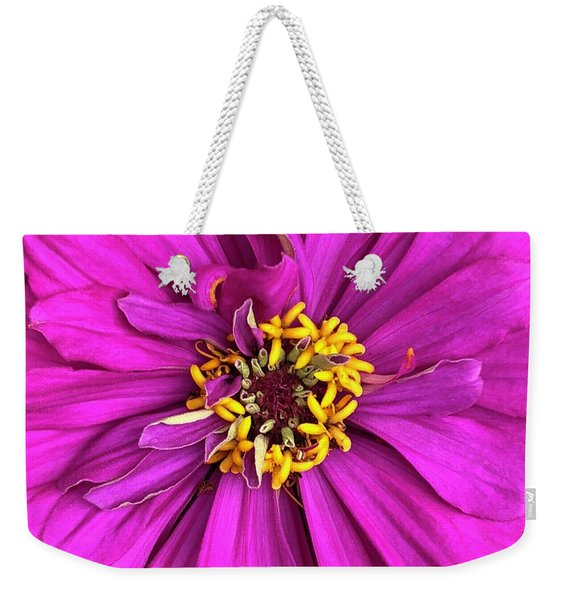 Fuschia Bloom Weekender Tote Bag