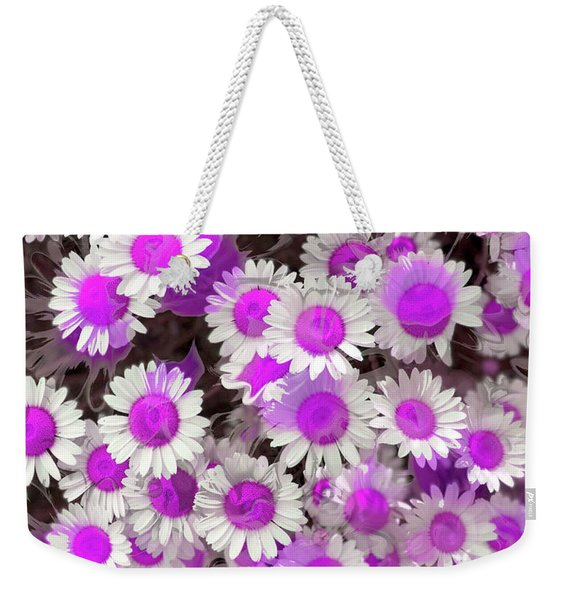 Fuscia Girls Weekender Tote Bag