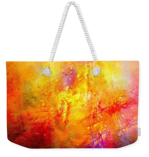 Galaxy Afire Weekender Tote Bag