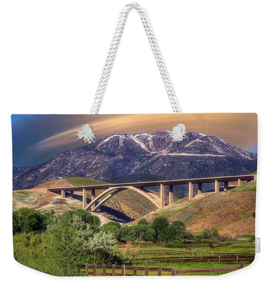 Galena Creek Bridge Weekender Tote Bag