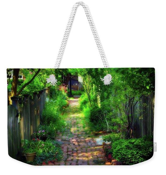 Garden Alley Weekender Tote Bag