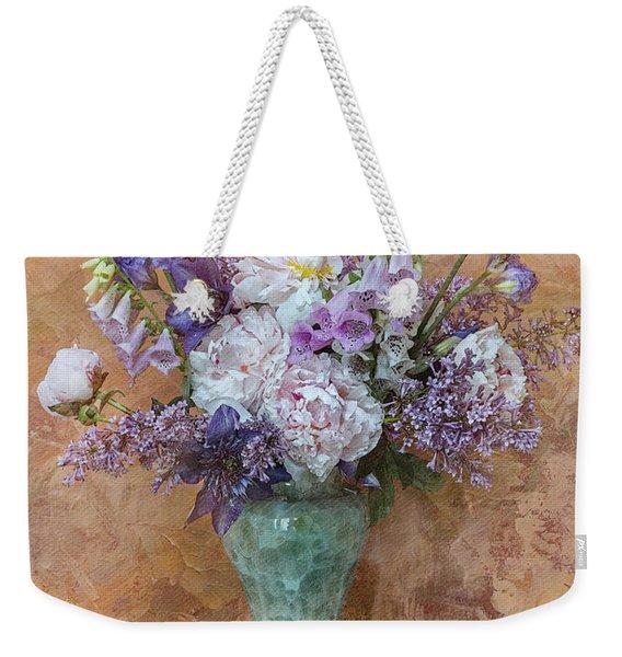 Garden Beauties Weekender Tote Bag