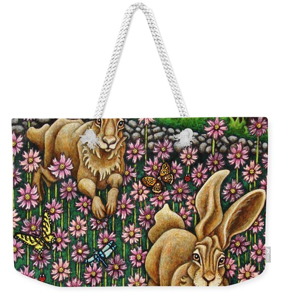 Garden Frolic  Weekender Tote Bag