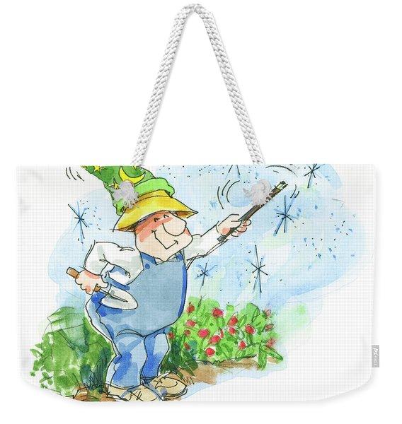 Garden Magic Weekender Tote Bag