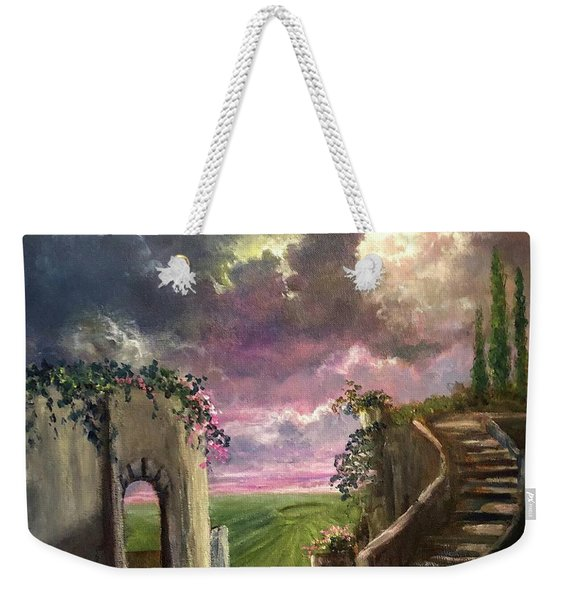 Garden Of The Ancients Weekender Tote Bag