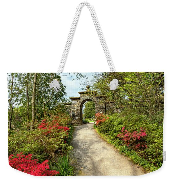 Garden Path And Arch Weekender Tote Bag