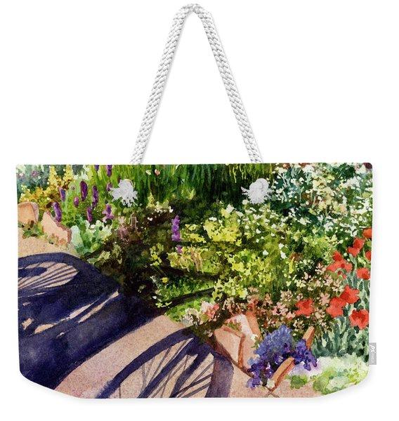 Garden Shadows II Weekender Tote Bag