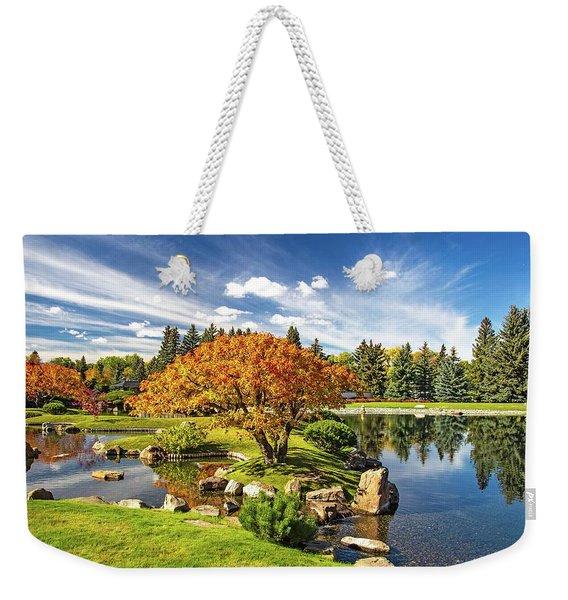Garden Splendour Weekender Tote Bag