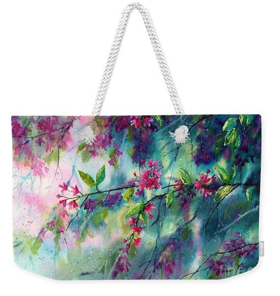 Garlands Full Of Flowers Weekender Tote Bag
