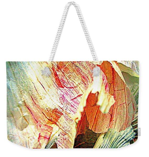 Garlic Peel Celebrated Weekender Tote Bag