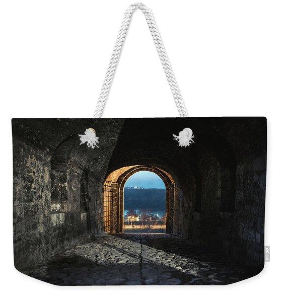 Gate At Kalemegdan Fortress, Belgrade Weekender Tote Bag