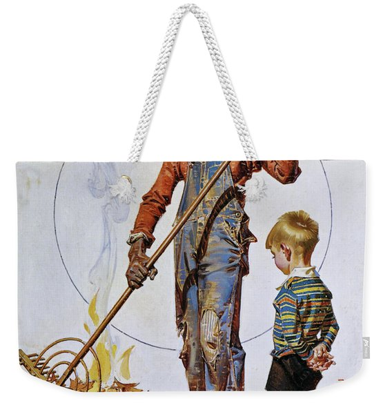 Gather Of Fallen Leaves - Digital Remastered Edition Weekender Tote Bag
