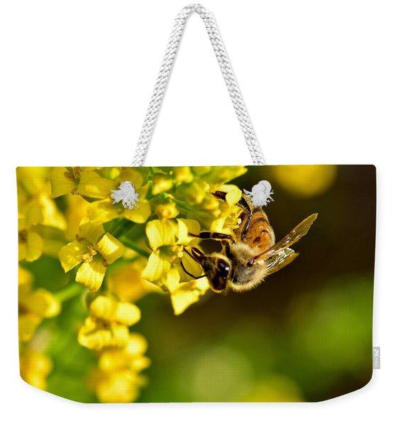 Gathering Pollen Weekender Tote Bag