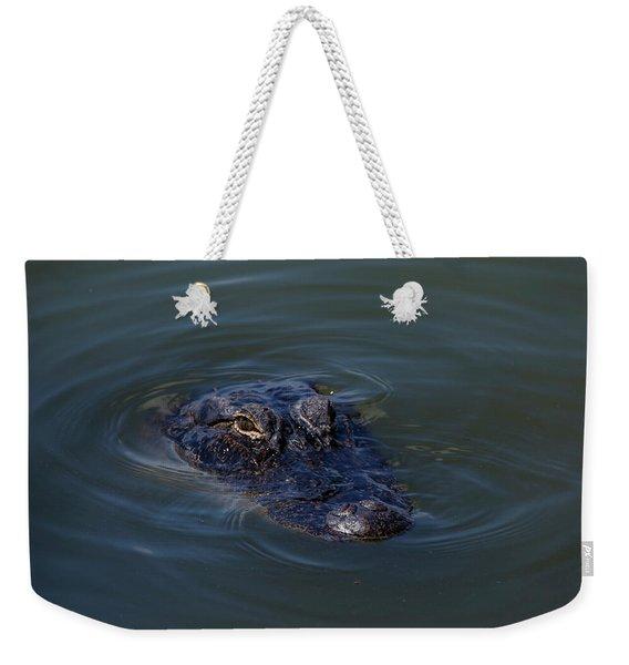 Gator Stare Weekender Tote Bag