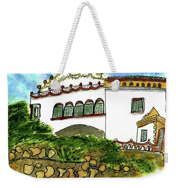 Gaudi's Place In Barcelona Weekender Tote Bag