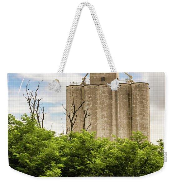 Geary Grain Elevator Weekender Tote Bag