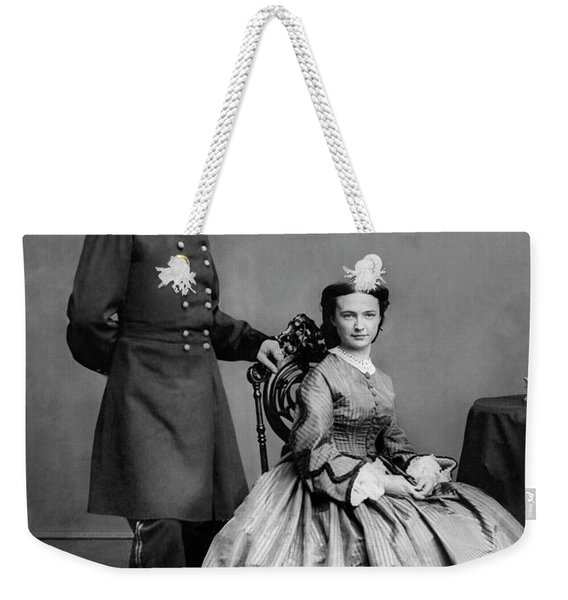 General Custer And His Wife Libbie Weekender Tote Bag