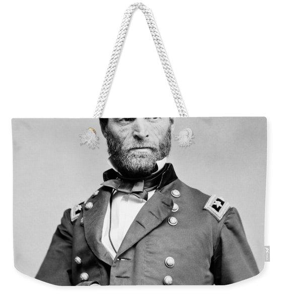 General Sherman - Hand In Coat Portrait Weekender Tote Bag