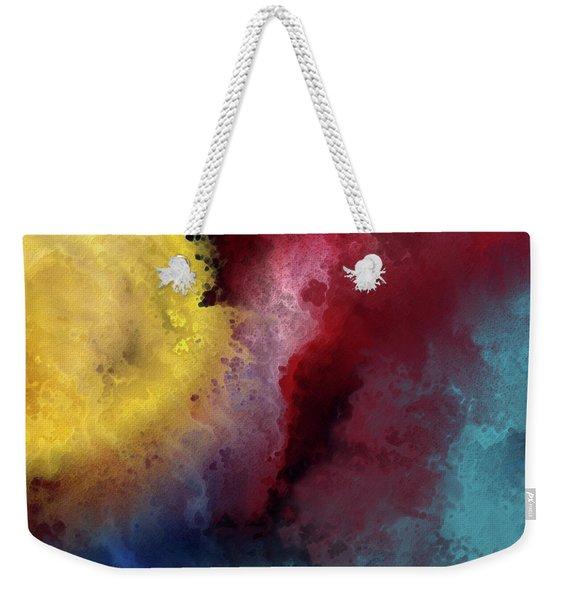 Genesis 1 3. Let There Be Light Weekender Tote Bag
