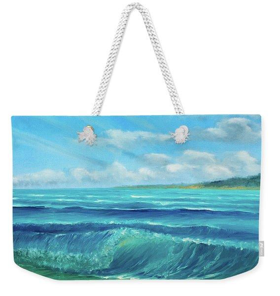 Gentle Breeze Weekender Tote Bag