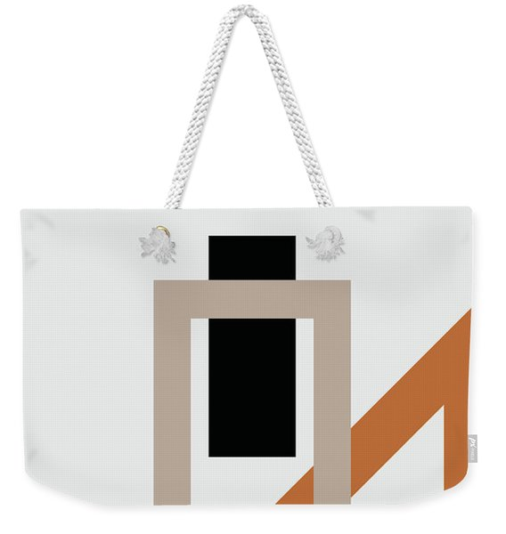 Geometric Painting 10 Weekender Tote Bag