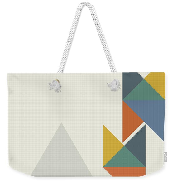 Geometric Painting 14 Weekender Tote Bag