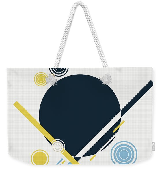 Geometric Painting 3 Weekender Tote Bag