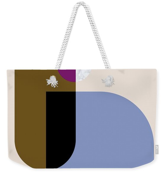 Geometric Painting 4 Weekender Tote Bag