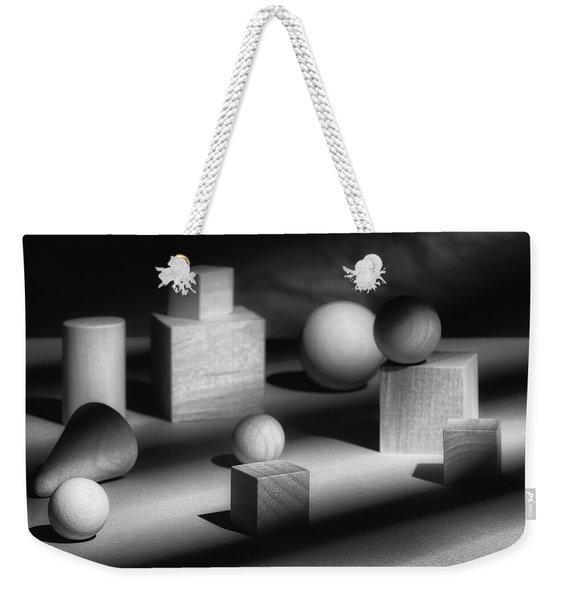 Geometric Shapes Weekender Tote Bag