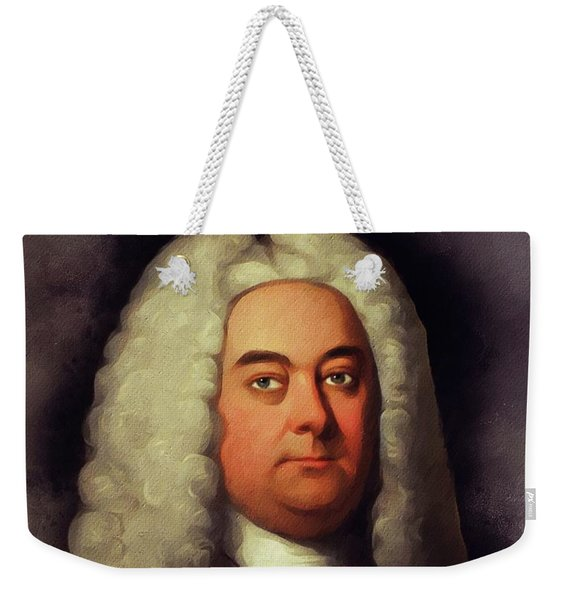 George Frederic Handel, Music Legend Weekender Tote Bag