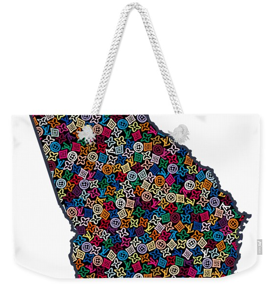 Georgia Map - 1 Weekender Tote Bag