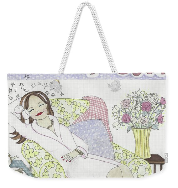 Get Some Rest Weekender Tote Bag