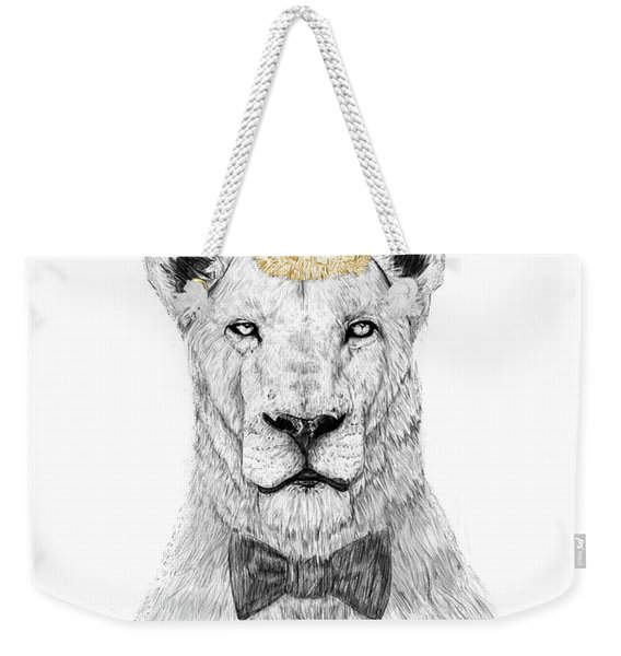 Get The Party Started Weekender Tote Bag