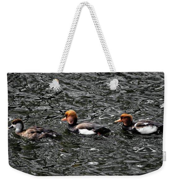 Getting My Ducks In A Row Weekender Tote Bag