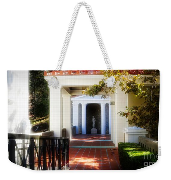 Getty Exterior Landscape Architecture  Weekender Tote Bag