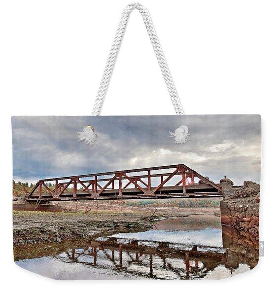 Ghost Bridge - Colebrook Reservoir Weekender Tote Bag