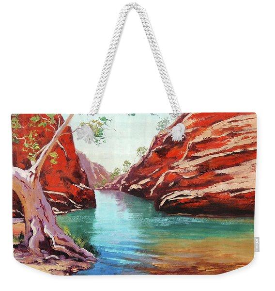 Ghost Gum Alice Springs Weekender Tote Bag
