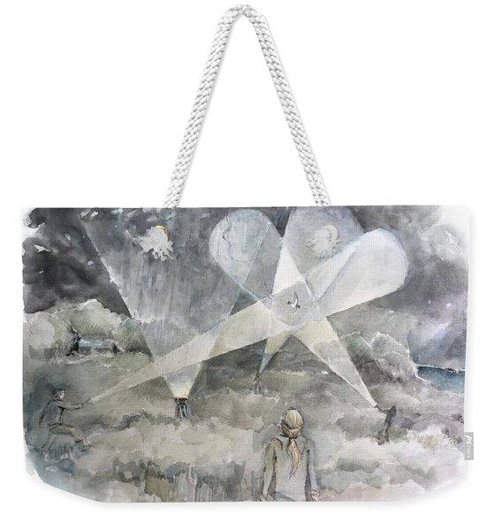 Ghostbusting The New Zealand Storm-petrel Weekender Tote Bag