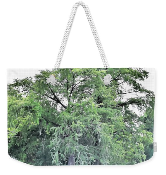 Giant River Tree Weekender Tote Bag