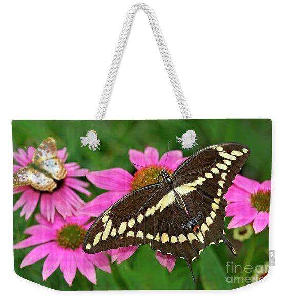 Giant Swallowtail Papilo Cresphontes Weekender Tote Bag