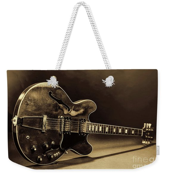 Gibson Guitar Images On Stage 1744.015 Weekender Tote Bag