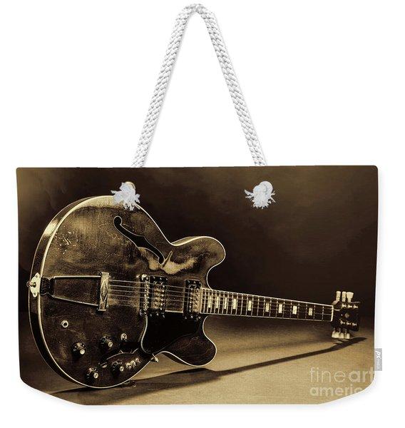 Gibson Guitar Images On Stage 1744.015 Weekender Tote Bag