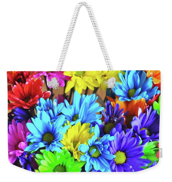 Weekender Tote Bag featuring the photograph Giggle Patch by JAMART Photography