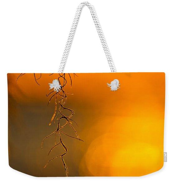 Gilded Moss Weekender Tote Bag