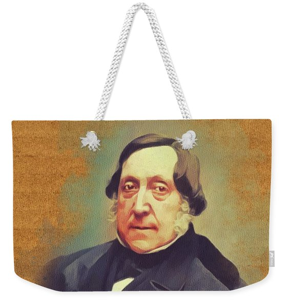 Gioacchino Rossini, Music Legend Weekender Tote Bag