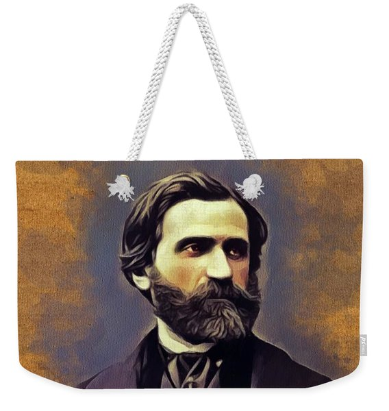 Giuseppe Verdi, Music Legend Weekender Tote Bag