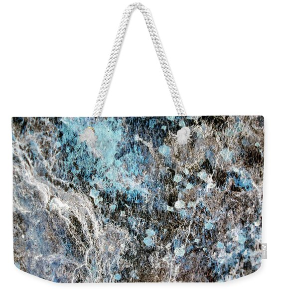 Glacier Bay Abstract Art Weekender Tote Bag