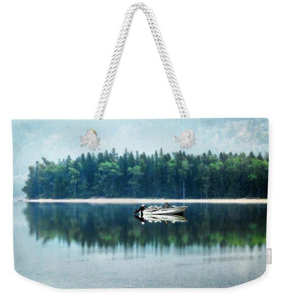 Glacier National Park Lake Reflections Weekender Tote Bag