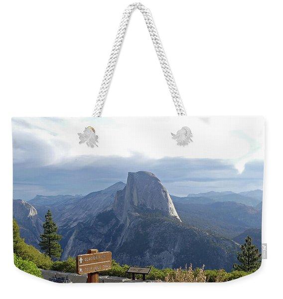 Glacier Point Weekender Tote Bag